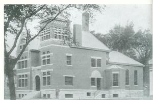 Shown is the former Tazewell County Jail and Sheriff's residence, where Martin Virant was found dead and hanging in his cell on Sept. 1, 1932, the day after publicly accusing Tazewell County Sheriff's deputies of beating and torturing him. The McKenzie Building on Fourth Street in downtown Pekin was built on the site of the old jail.