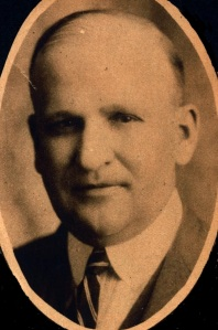 Tazewell County Coroner Arthur E. Allen, shown in this 1928 photograph, was a key figure in the investigations and criminal prosecutions pertaining to the 1932 deaths of Lewis P. Nelan and Martin Virant. Photo by Konisek, Feb. 26, 1928, Peoria
